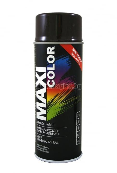 Бързосъхнеща акрилна спрей боя Maxi Color Спрей боя Maxi Color RAL 9005