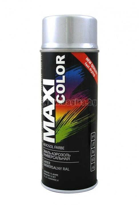 Бързосъхнеща акрилна спрей боя Maxi Color Спрей боя Maxi Color RAL 9006
