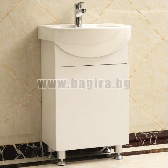 PVC шкаф за баня с умивалник Inter Ceramic интер керамик