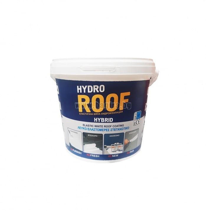 Хибридна UV хидроизолация за покриви Хидрозол ® Hydro Roof  Хибридна UV хидроизолация за покриви Хидрозол ® Hydro Roof  4 кг
