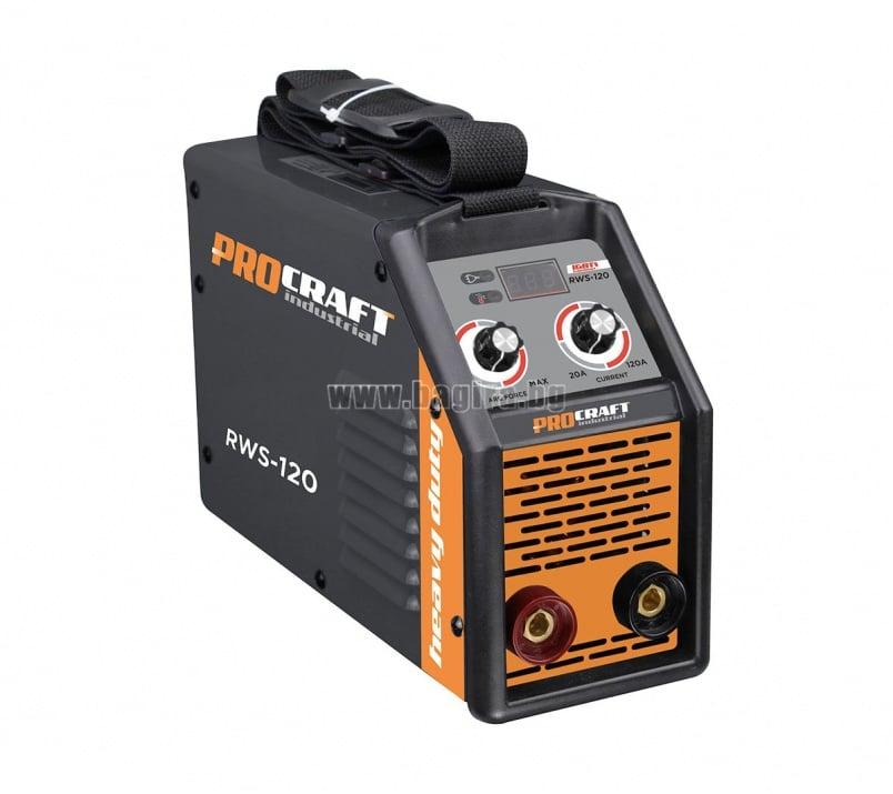 Инверторен електрожен Industrial RWS-120 Procraft