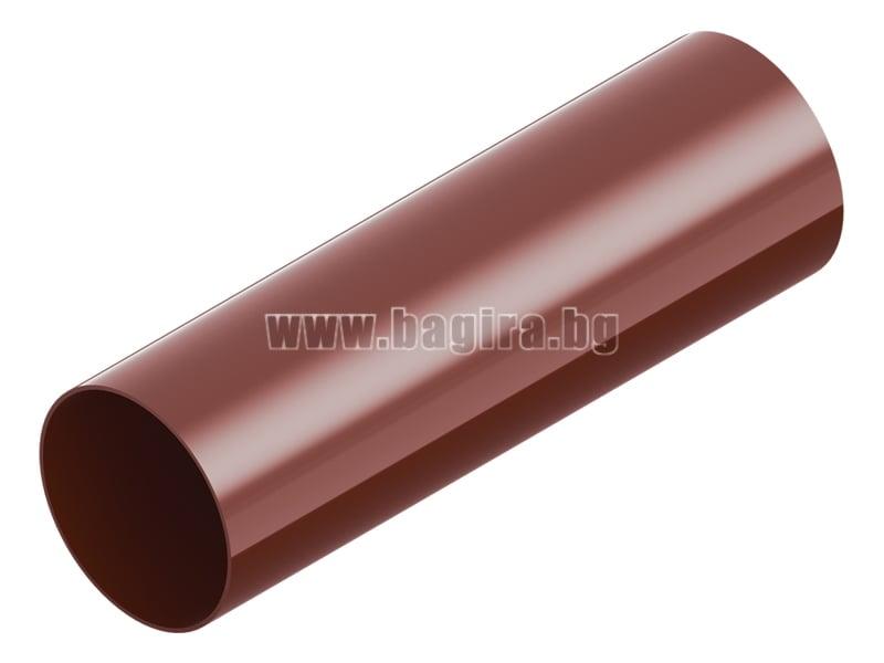 Тръба ⌀ 80 - 3 м LEXON Тръба ⌀ 80 - 3 м LEXON - червена