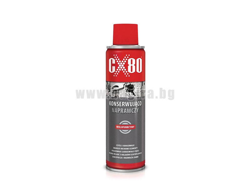 Многофункционална смазка CX80 Многофункционална смазка CX80 - 250 мл