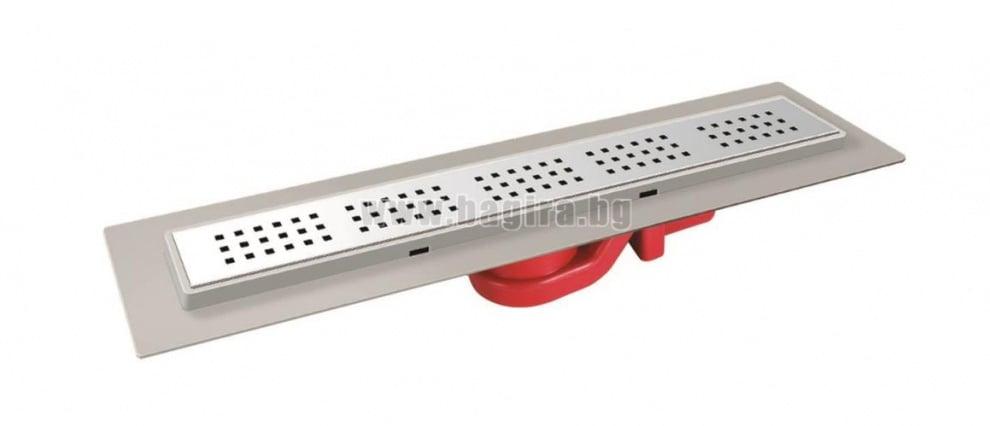 Линеен сифон, нисък с PVC основа 50 см MTS59550-50 MTS Mesateknik