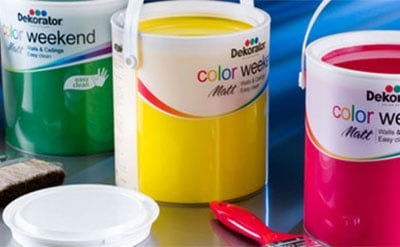 Матов латекс  2.5 л. Dekorator Color Weekend Mat