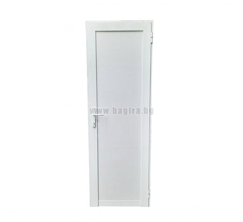 Алуминиева врата с пълнеж от термопанел - дясна