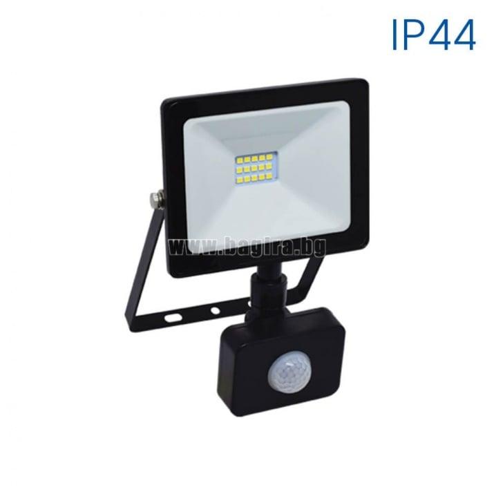 LED прожектор със сензор NYX LED 10W/B W 6400K