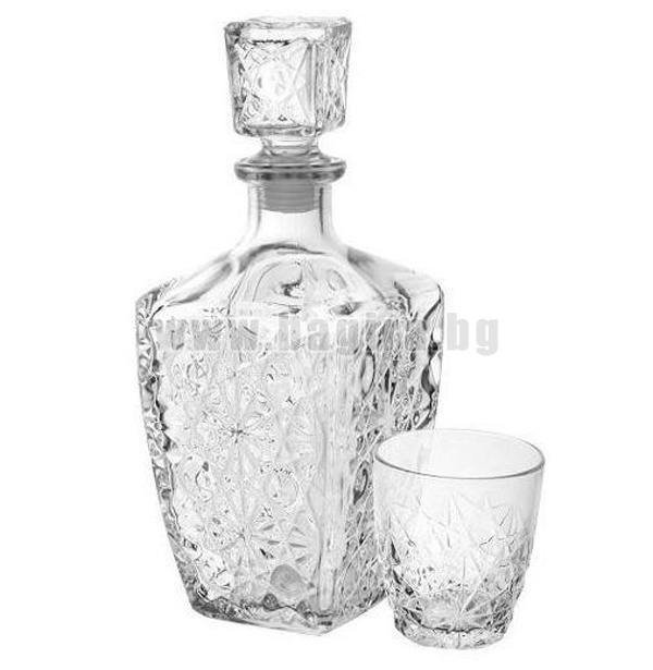 Комплект за уиски DEDALO 7 елемента