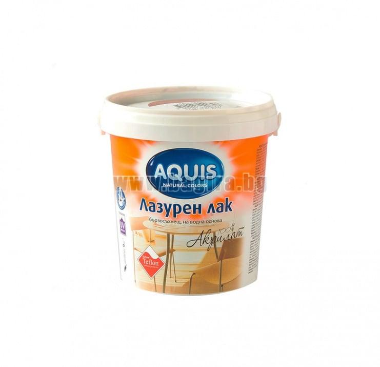 Лазурен лак с Teflon ® 750 мл. Aquis