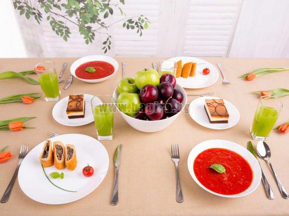 Сервиз за хранене Zelie - 19 части