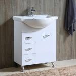 Комплект PVC шкаф и умивалник 065 Inter Ceramic
