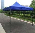 Сгъваема шатра 3 х 3 м. - синя