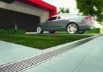 Дренажна паркинг настилка - зелена
