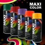 Бързосъхнеща акрилна спрей боя Maxi Color