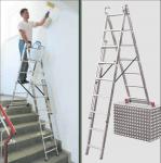 Професионална трираменна стълба